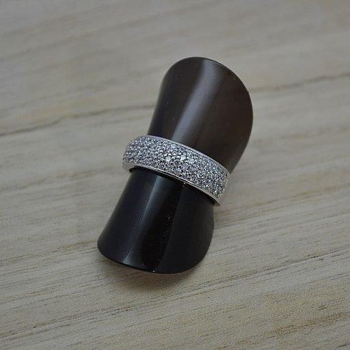 Zilveren dames ring Trento Rosie online kopen | Trendy Juweeltjes