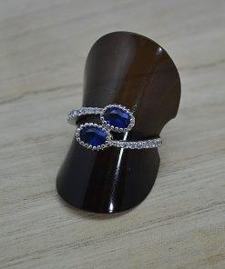 Zilveren verlovingsring Trento Tes online kopen | Trendy Juweeltjes