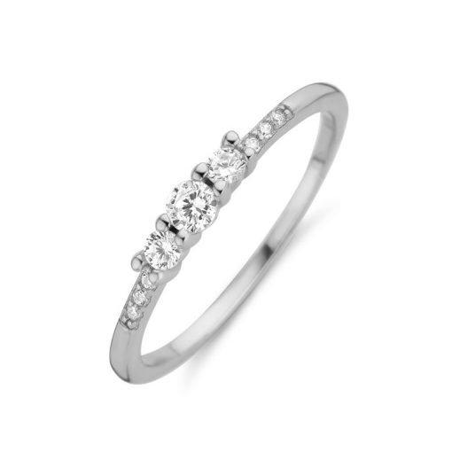 Zilveren ring New Bling 9NB-0388 - Trendy Juweeltjes