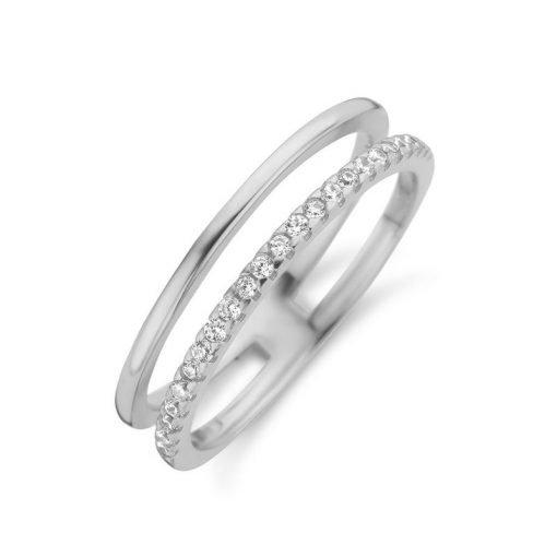 Zilveren ring New Bling 9NB-0389 - Trendy Juweeltjes