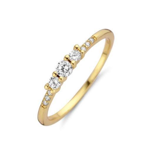 Zilveren ring New Bling 9NB-0391 - Trendy Juweeltjes