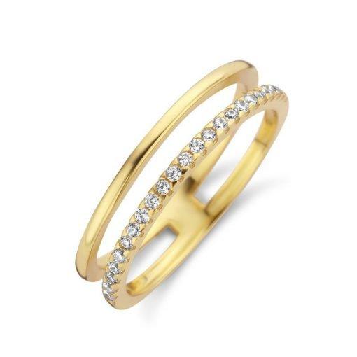 Zilveren ring New Bling 9NB-0392 - Trendy Juweeltjes