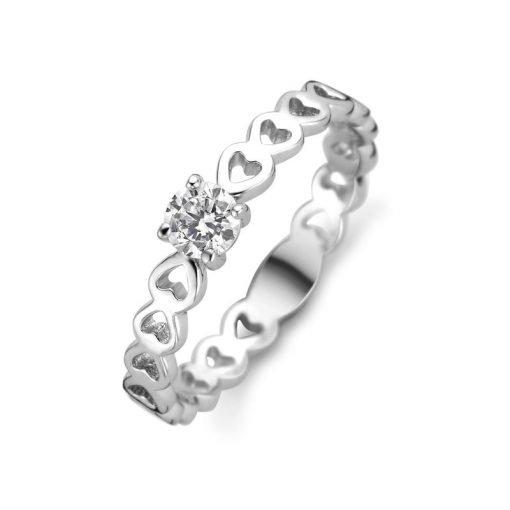 Zilveren ring New Bling 9NB-0437 - Trendy Juweeltjes