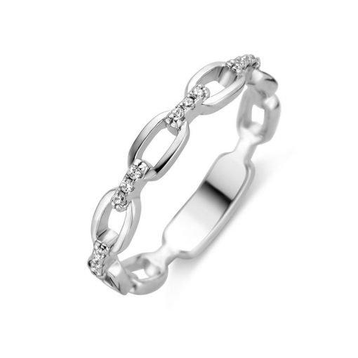Zilveren ring New Bling 9NB-0440 - Trendy Juweeltjes