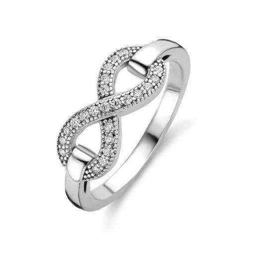 Zilveren ring New Bling 9NB-0443 - Trendy Juweeltjes
