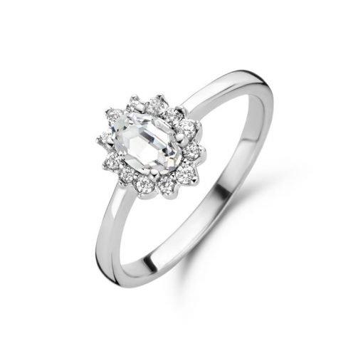Zilveren ring New Bling 9NB-0533 - Trendy Juweeltjes