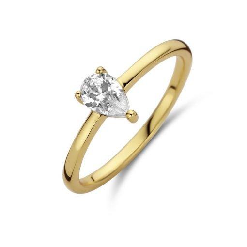 Zilveren ring New Bling 9NB-0601 - Trendy Juweeltjes