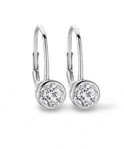 Zilveren oorbellen 9NB-0246 new bling - Trendy Juweeltjes