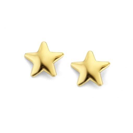 Gouden oorbellen new bling 9nbg-0162 - Trendy Juweeltjes