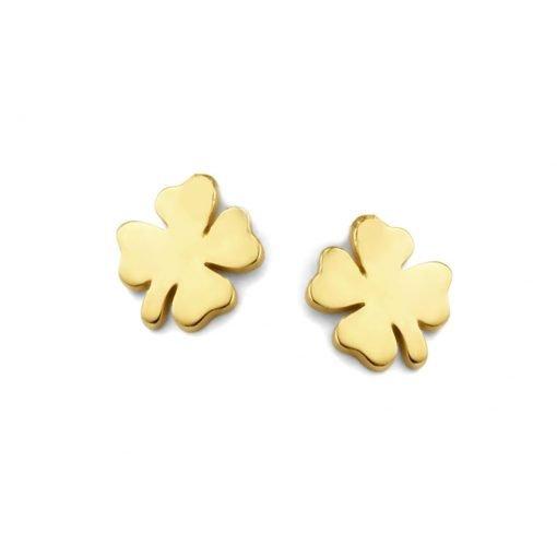 Gouden oorbellen new bling 9nbg-0169 - Trendy Juweeltjes