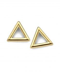 Gouden oorbellen new bling 9nbg-0173 - Trendy Juweeltjes