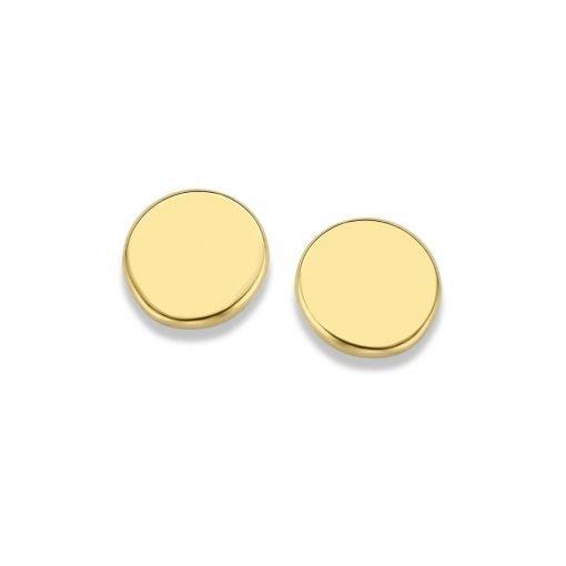 Gouden oorbellen new bling 9nbg-0176 - Trendy Juweeltjes