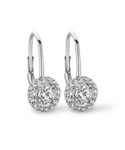 Zilveren oorbellen 9NB-0247 new bling - Trendy Juweeltjes