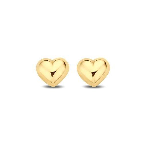 Gouden oorbellen new bling 9nbg-0068 - Trendy Juweeltjes