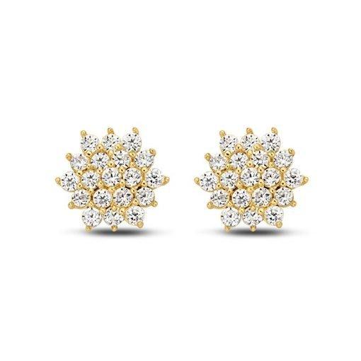 Gouden oorbellen new bling 9nbg-0086 - Trendy Juweeltjes
